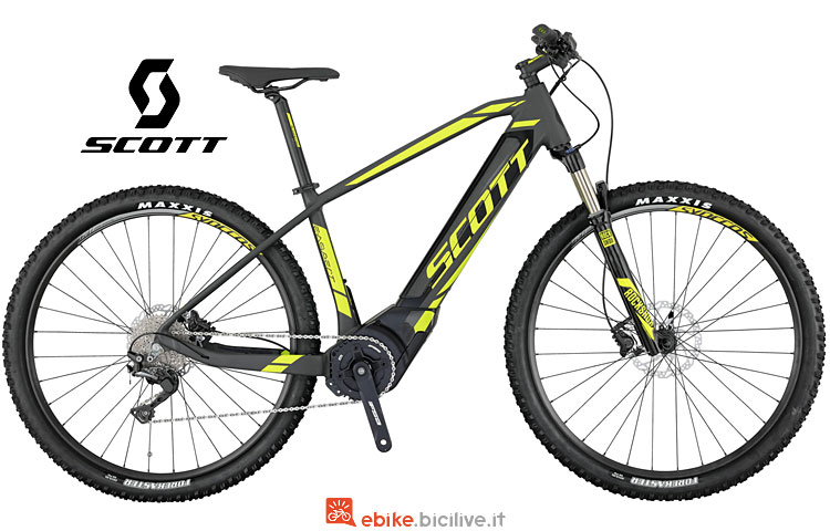 e-mtb Scott E-Aspect 720 dal catalogo 2017