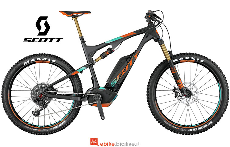 e-mtb Scott 700 Plus Tuned