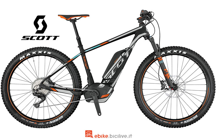 ebike Scott E-Scale 710 Plus dal catalogo 2017