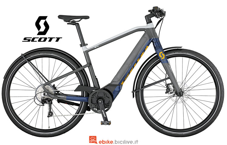 e-bike Scott E-Silence Speed 10 con prezzo 2017