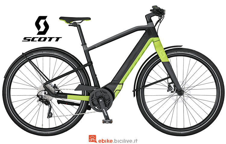 ebike Scott E-Silence Speed 20 dal catalogo 2017