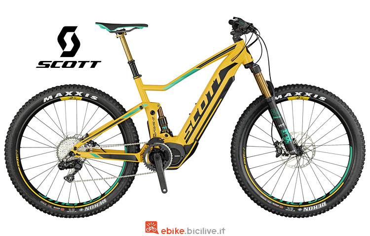 e-mtb Scott E-Spark 700 Plus Tuned