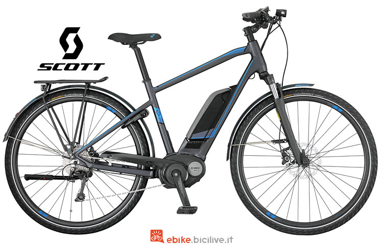 ebike Scott E-Sub Tour 10 con batteria