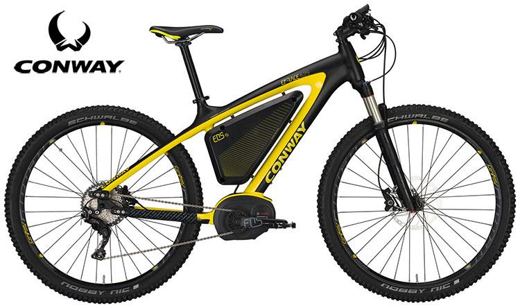Una bicicletta Conway EMR 629 Premium 2017