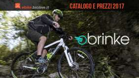 Bici elettriche Brinke: catalogo e listino prezzi 2017