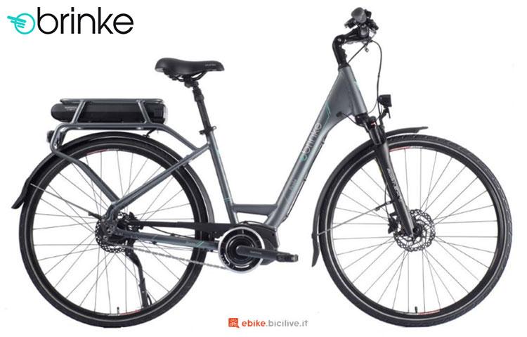 Una bici elettrica 2017 Brinke Élysée 2 Di2