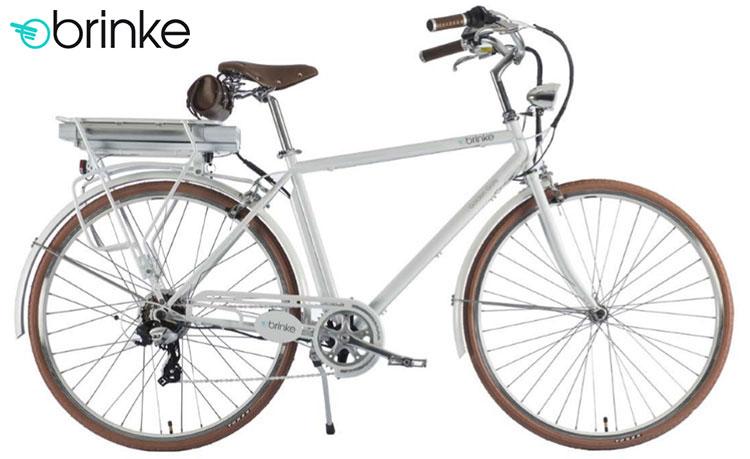 Una bici elettrica 2017 Brinke Golden Gate Gents