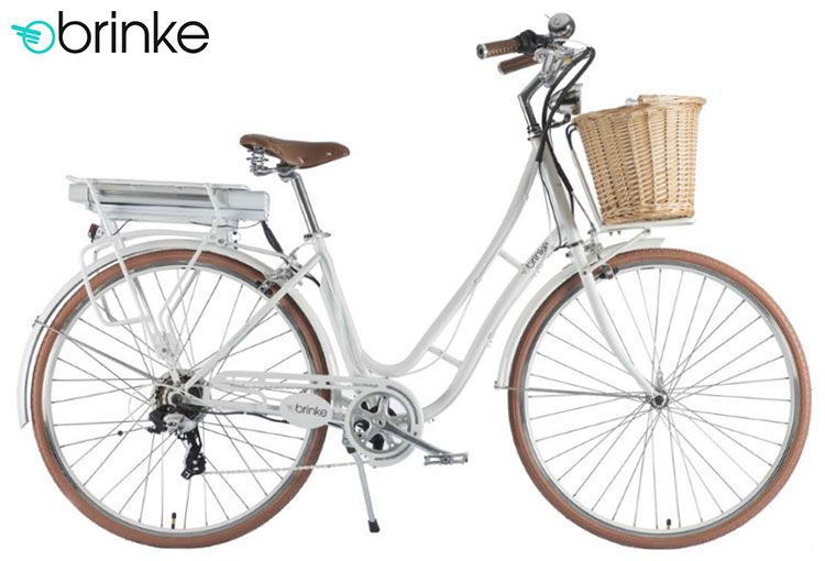 Una bici elettrica 2017 Brinke Golden Gate Ladies