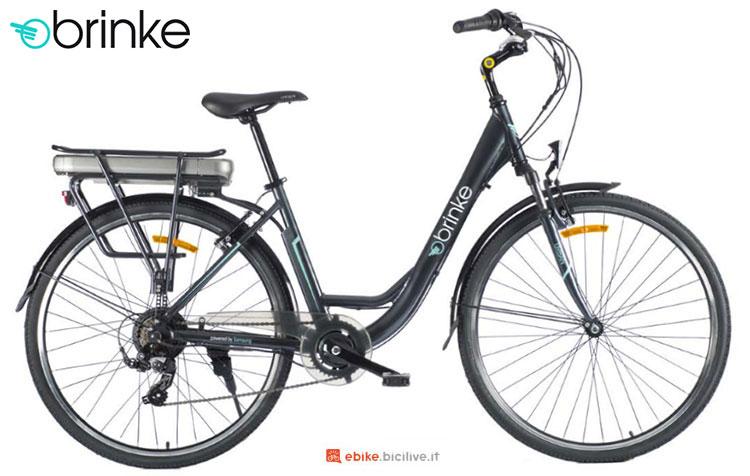 Una bici elettrica 2017 Brinke Independence