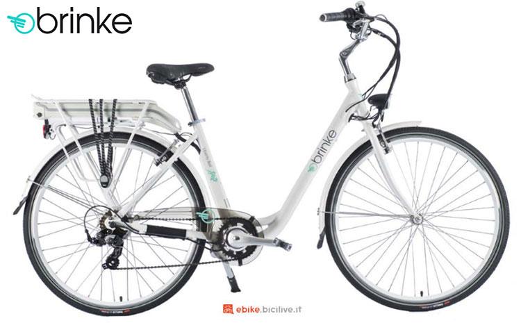Una bici elettrica 2017 Brinke Liberty Bell