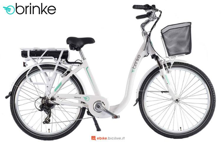 Una bici elettrica 2017 Brinke Venice
