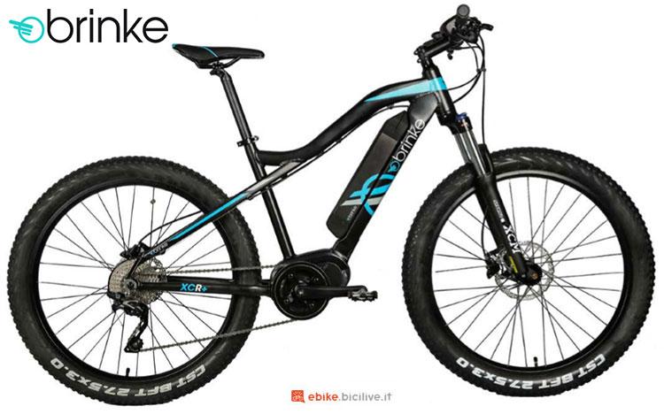 Una bici elettrica 2017 Brinke XCR+