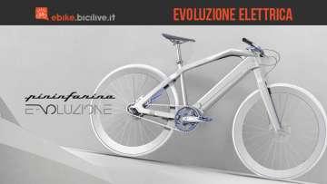 E-voluzione, la bici elettrica di Pininfarina e Diavelo