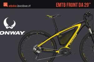 Una eMTB Conway EMR 629 Premium 2017
