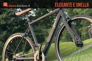Geero, un'eBike elegante e snella dalle linee classiche