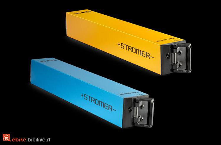 batterie a scomparsa delle ebike Stromer