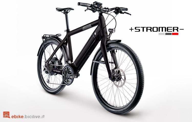 Stromer ST1 con portapacchi integrato
