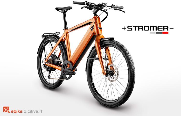 Stromer ST1X nella nuova colorazione orange