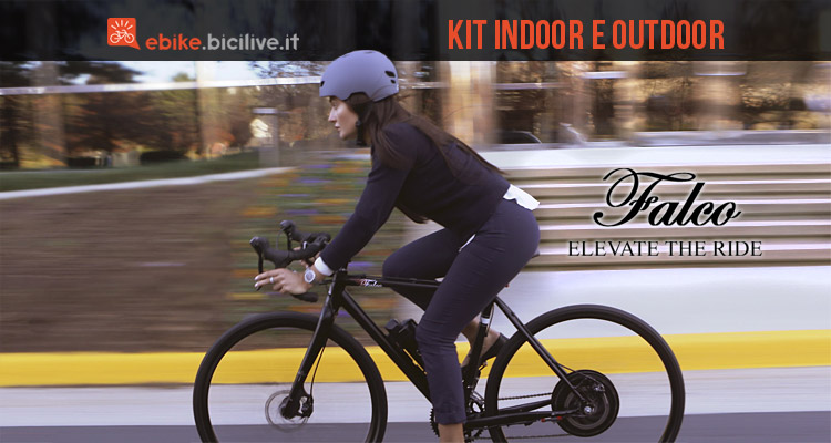Falco eDrive: kit conversione eBike e rullo elettronico