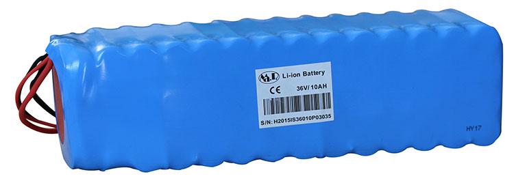 Un pacco di odierne batterie al Litio ricaricabili