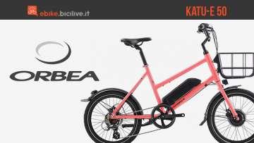 Bici elettrica per la città Orbea Katu-E 50