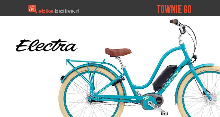 Bici elettrica Electra Townie Go