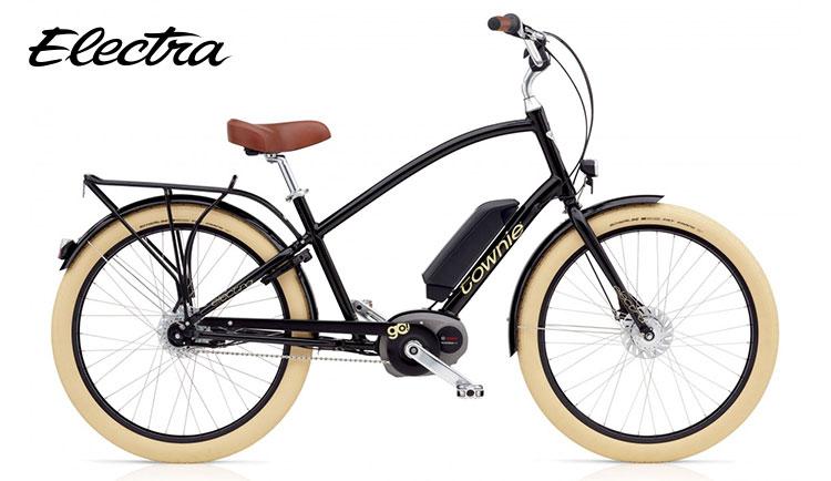 Bici a pedalata assistita Electra Townie Go modello da uomo colore nero