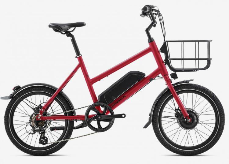La bici elettrica urbana Katu e50 di Orbea