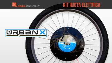 Kit conversione ebike UrbanX