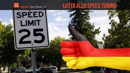La Germania contro lospeed tuning delle ebike