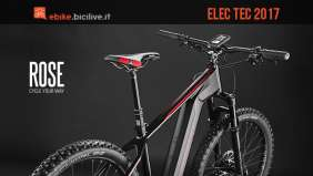 Mountain bike elettrica Rose Elec Tec 2017