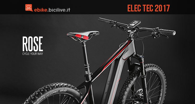 Mountain bike elettrica Rose Elec Tec 2017