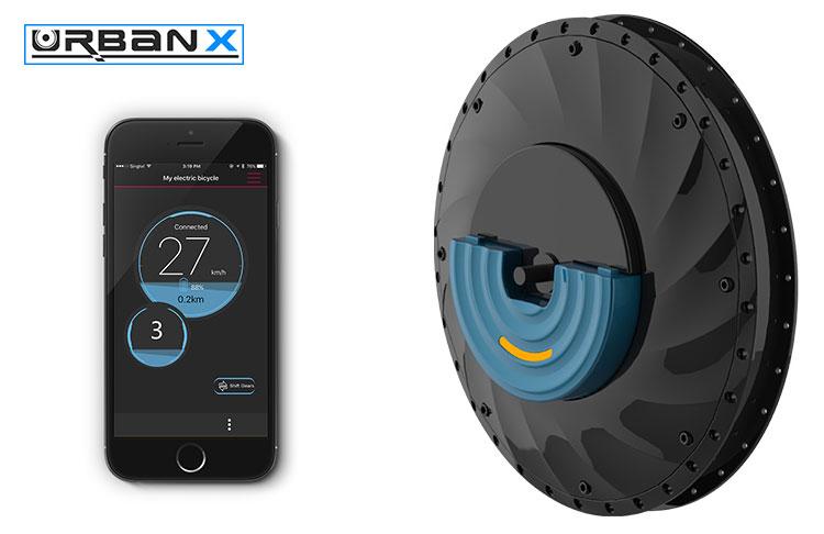 App e ruota elettrica UrbanX