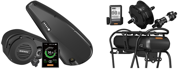 sistemi di motorizzazione e kit di conversione ebike Bafang