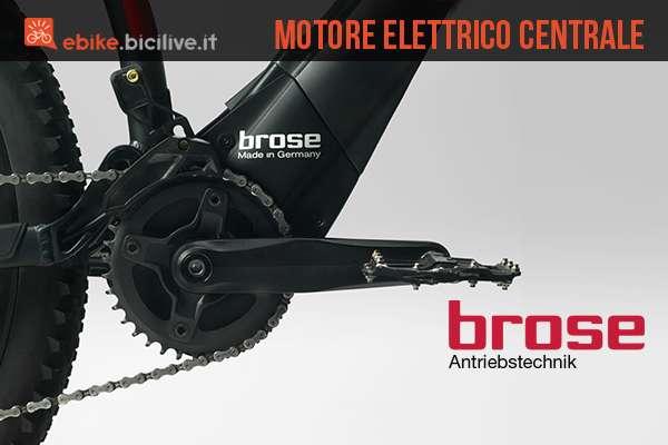 motore elettrico integrato per ebike brose