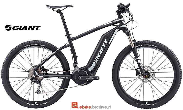 Giant Dirt-E+ 2 con motore SyncDrive Sport