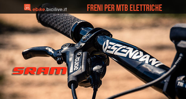 Freni a disco specifici per eMTB SRAM Guide RE
