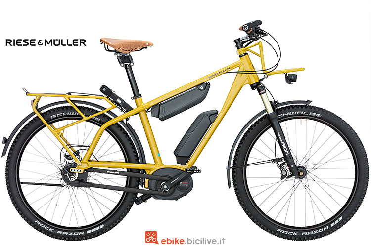 Ebike Riese & Muller Charger GX Rohloff dal listino 2017
