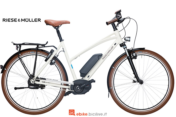 Riese & Muller Cruiser Mixte Automatic con motore Bosch
