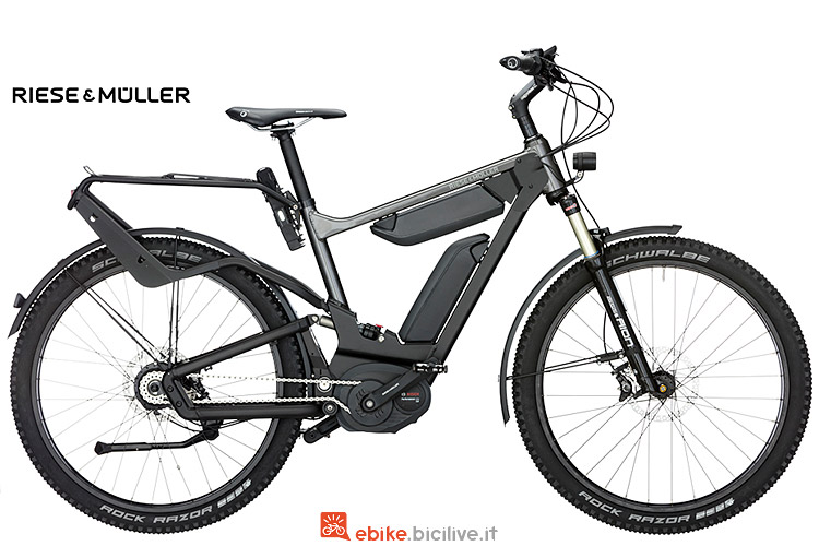 Riese & Muller Delite GX Rohloff con due batterie