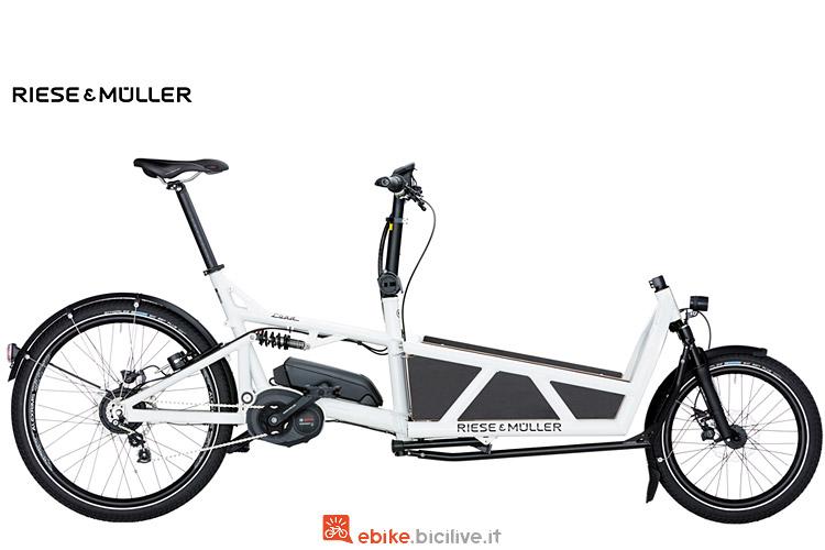 cargo bike elettrico Riese & Muller Load Nuvinci