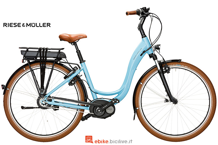 ebike Riese & Muller Swing Automatic dal catalogo 2017