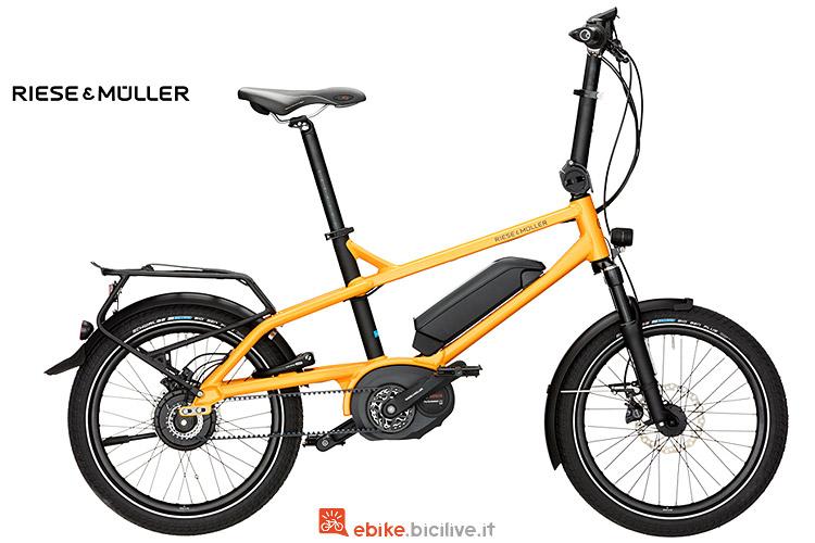 R&M Tinker Nuvinci, l'eBike Compatta urbana con motore Bosch Performance Cx