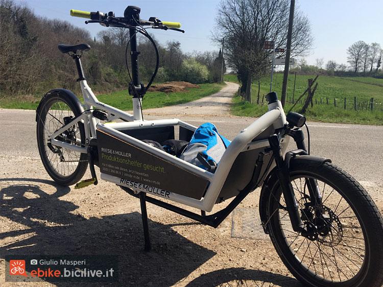 cargo bike elettrica Riese & Muller Load