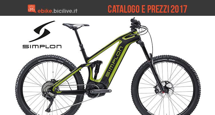 Bici elettriche Simplon: catalogo e listino prezzi 2017
