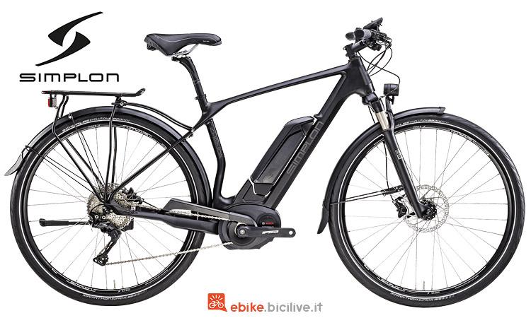Simplon Chenoa HS con motore Bosch e telaio in carbonio