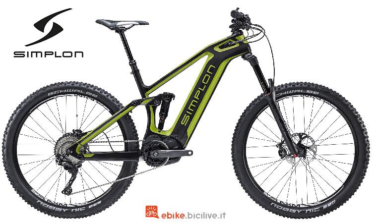 Simplon Steamer 275 Carbon con batteria integrata nel telaio in carbonio