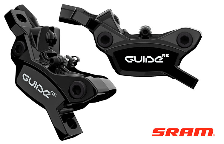 L'impianto frenante a disco SRAM Guide RE per mtb a pedalata assistita