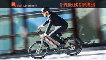 foto della speed pedelec stromer st2s