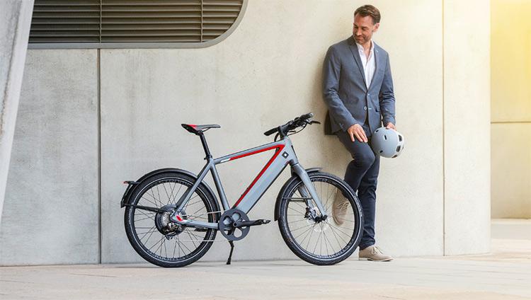 foto della bici urban a pedalata assistita Stromer St2 S